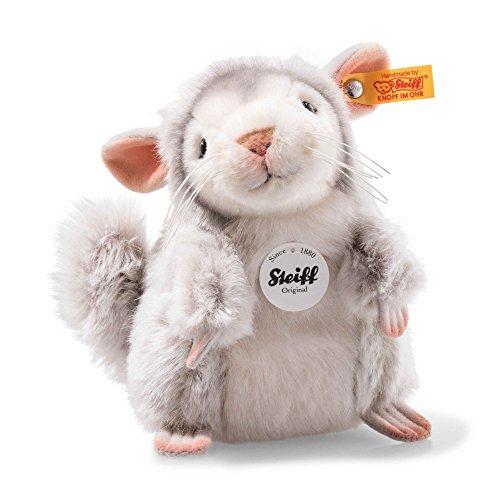 Steiff National Geographic - Chinchi Chinchilla (Plush Toy Chinchilla)