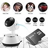 Wireless WiFi IP Camera Home Baby Security Monitor Wifi Network Connect Intelligent Surveillance Camera Radiationless with 64G TF Card