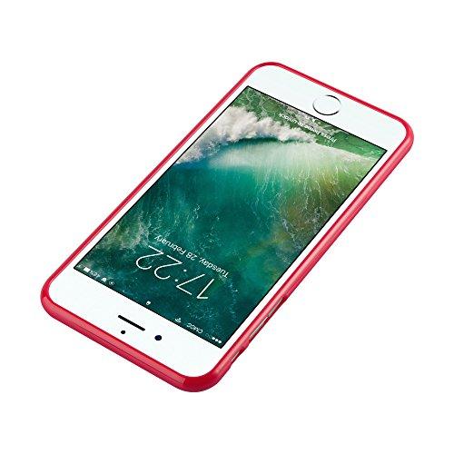 Cadorabo - Cubierta protectora para >                                                  Apple iPhone 8 PLUS / 7 PLUS / 7S PLUS                                                  < de silicona TPU en Diseño Jelly