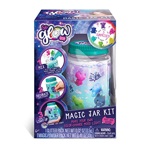 (Canal Toys 255002 - So Glow DIY Magic Jar Kit,)
