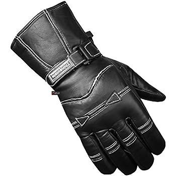 Amazon.com: Men's Motorcycle Gauntlet Leather Windproof