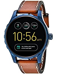 Q Marshal Gen 2 Touchscreen Brown Leather Smartwatch