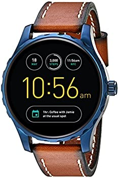 Fossil Q Marshal Gen 2 Touchscreen Brown Leather Smartwatch 0