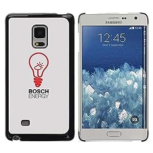 Caucho caso de Shell duro de la cubierta de accesorios de protección BY RAYDREAMMM - Samsung Galaxy Mega 5.8 9150 9152 - Bulb Art Red Drawing Inspiration