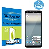 Black - Google Pixel 2 XL PET Screen Protector , Wtbone -[3D Coverage] [No Bubble] HD Screen Protector Film for Google Pixel2 XL - [3-Pack]