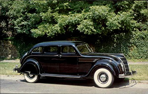 - 1935 Chrysler Airflow Imperial Cars Original Vintage Postcard