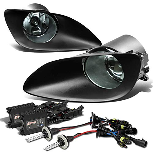 For Yaris 4DR Bumper Fog Light+Switch+6,000K HID+Slim Ballast (Smoke Lens) - 1st Generation XP90 Belta
