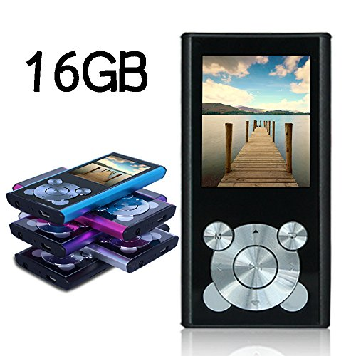 Tomameri 16GB Compact and Portable MP3 Player MP4 Player Vid