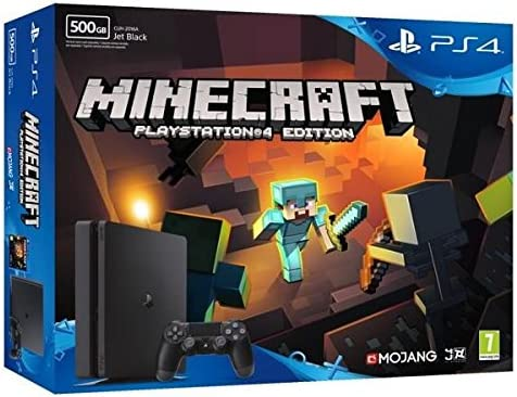 Nouvelle PS4 Slim 500 Go Minecraft (Voucher): Amazon.es: Videojuegos