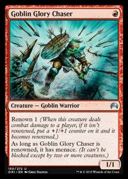 Magic: the Gathering - Goblin Glory Chaser - Origins