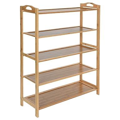 Strange Shoe Rack Organizer Wood 5 Tier Shoe Standing Shelf Storage Download Free Architecture Designs Embacsunscenecom