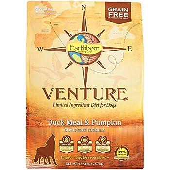 Amazoncom Earthborn Holistic Venture Dog Food Duck Meal 125lb Bag