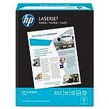 Wholesale CASE of 20 - HP White LaserJet Paper-LaserJet Paper,24 lb.,8-1/2''x11'',98 GE/112 ISO,500/RM,WE
