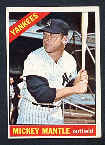 1966 Topps #50 Mickey Mantle Yankees VG 351626 Kit Young Cards by Topps
