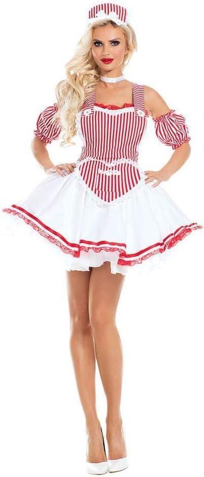 YYZZ Disfraz de Oktoberfest para Mujer, Cerveza Alemana bávara ...