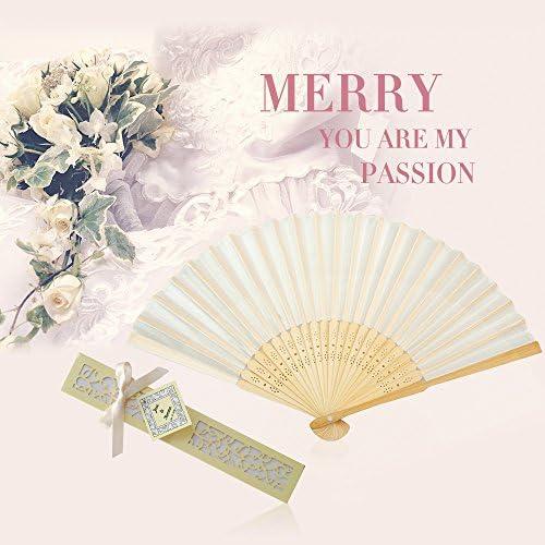 Personalized Collection Gold Dot Silk Folding Fan Favor Glitz Glam Wedding Hand Held Custom Fans Destination Beach Outdoor Bridal Shower