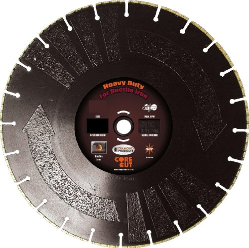 Diamond Products Core Cut Diamond Product 77634 Ductile I...