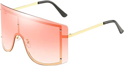 New DG Eyewear Mens Square Black White Mirrored Lens Sunglasses Shades Designer