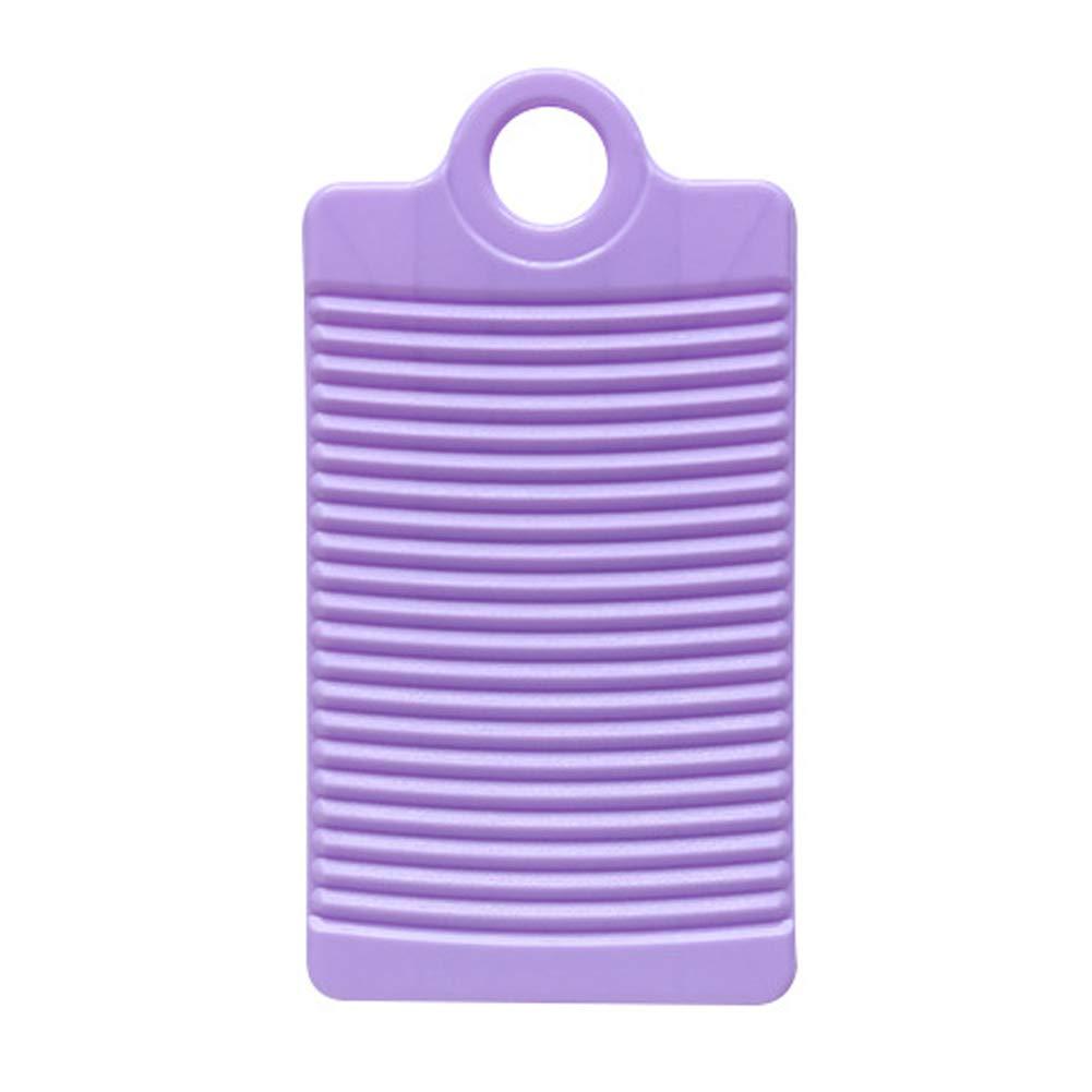 SELUXU Limpieza del hogar Lavander/ía Kid Espesar Camisas Antideslizantes Ropa Limpia Tabla de Lavar Tabla de Lavar