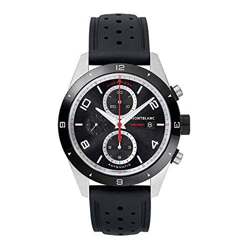 Mont Blanc Mens Automatic Chronograph (Montblanc TimeWalker Chronograph Automatic 116096)