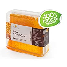 Honey Land 100% Pure Raw Unfiltered Honey Comb Honeycomb Kosher 360gr