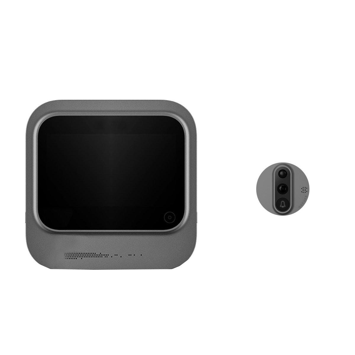 Mirilla de puerta Digital Wi-Fi con pantalla táctil y vídeo interfono Eques R26 veiu: Amazon.es: Bricolaje y herramientas