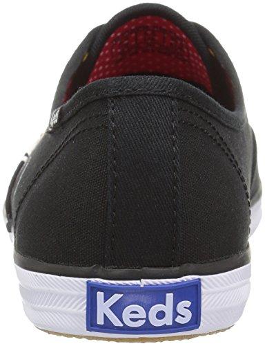 Keds Champion Placement Sneaker Minnie Women's Black Fashion xC8q7Tpwx