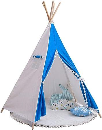 LISI Tienda de campaña para niños Juego de la casa habitación de los niños habitación Esquina de Lectura pequeña Tienda de campaña 170 * 110 CM: Amazon.es: Hogar