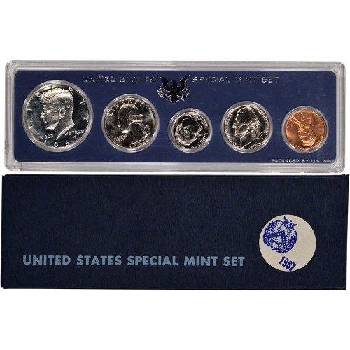 1967 US Special Mint Set Original Government Packaging