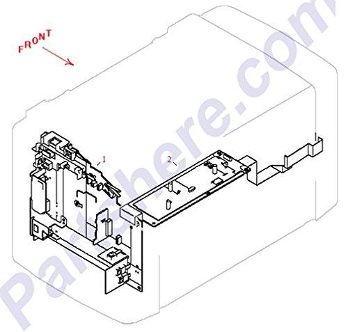 HP RM1-0907-030CN PARTS/BD/PRINT ENGINE CONTROL BOARD