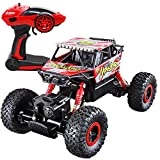 Joyin Toy RC Remote Control Car Off-Road Rock Crawler Power Wheel Monster Racing Truck Vehicle with LED Head Light (Battery Included)