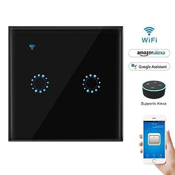 Wifi Lichtschalter Touch Schalter arbeitet mit Alexa und Google Home ...