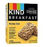 oat bars - KIND Breakfast Bars, Honey Oat, Gluten Free, Non GMO, 1.8oz, 32 Count