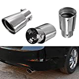 stainless steel car exhaust drop down tailpipe diesel trim