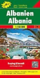 Albania, Top 10 Tips, Road map 1:150,000 (English, French, Italian and German Edition)