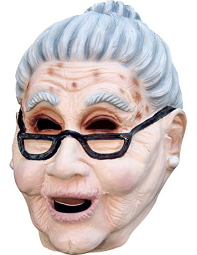 Grandma Old Woman Mask