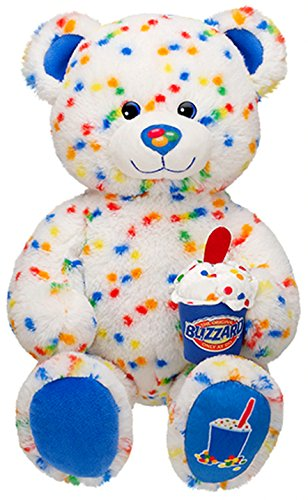 Build a Bear Workshop Candy Confetti Sprinkles Blizzard Scented DQ Dairy Queen Ice Cream Teddy Stuffed Plush Toy Animal (Best Dairy Queen Blizzard)