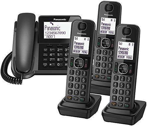 Panasonic KX-TGF324E Corded and Cordless Nuisance Call Block...