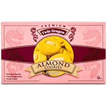 Twin Dragon Premium Almond Cookies, 12 Ounces