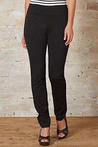 Fair Indigo Fair Trade Ponte Knit Slim Leg Pants