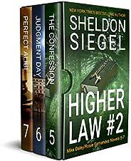 Higher Law Box Set, Volume 2: Mike Daley/Rosie Fernandez Novels 5-7