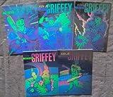 1992 Arena Ken Griffey Hologram 5 card set Seattle