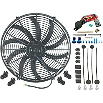 Amazon Com American Volt 16 Quot Inch Electric Cooling Fan 12