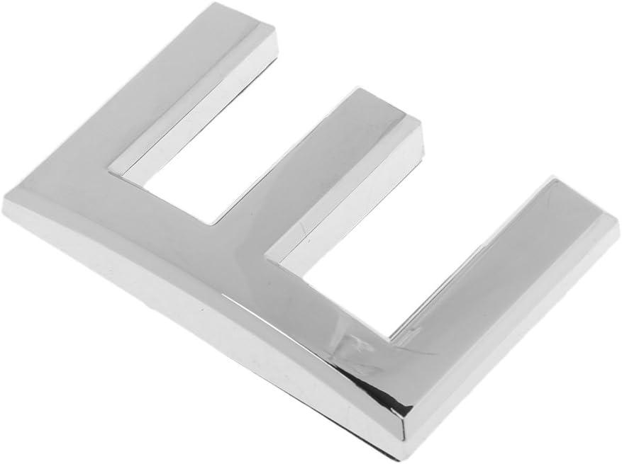5cm Placa de Puerta de Letra de Direcci/ón de Habitaci/ón para Oficina Casa Hotel de Pl/ástico ABS Material Durable Pr/áctico A