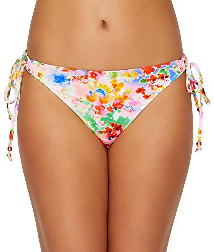 Side Tie Rio Bikini Swimsuit - Freya Endless Summer Rio Side Tie Bikini Bottom, L, Confetti