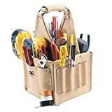 CLC Custom Leathercraft 526 Electrician's and Maintenance Tool Pouch, Heavy Duty, 17-Pocket