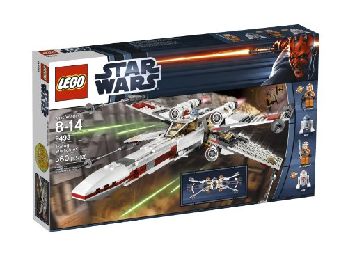 Amazon.com: LEGO Star Wars X-Wing Starfighter 9493 (Discontinued ...