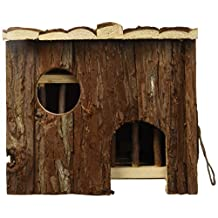 Living World Treehouse Real Wood, Pullout House