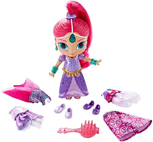 Fisher-Price Nickelodeon Shimmer & Shine, Magic Dress Shimmer (Fisher Price Twin Bed)