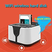 Hongfei (US Plug)Hard Drive Docking Station, Dual-Bay Hard Drive Docking Station For all 2.5 inch or 3.5 inch SATA Hard Disk in Home and Office